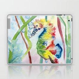 Colorful Seahorse Laptop & iPad Skin