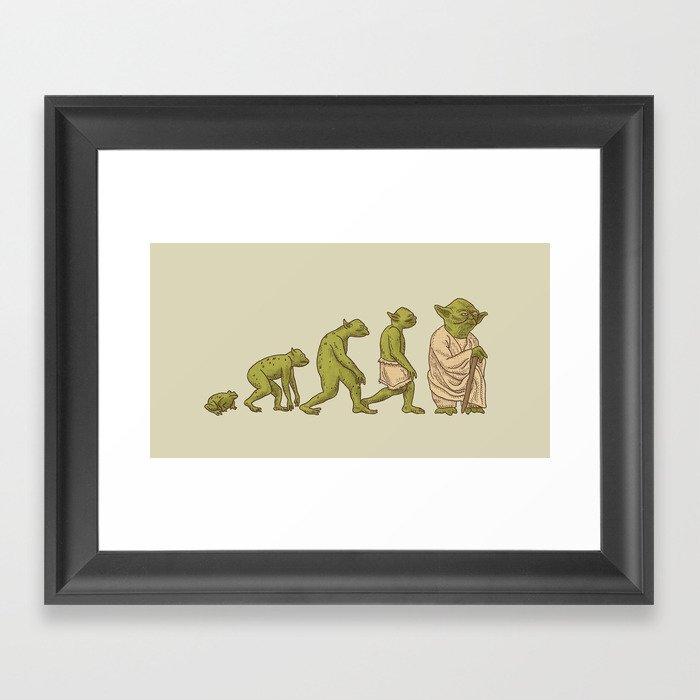 Yodalution  Framed Art Print