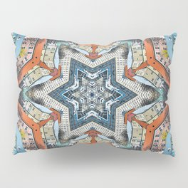 Abstract Geometric Structures Pillow Sham