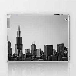 Chicago in B&W Laptop & iPad Skin