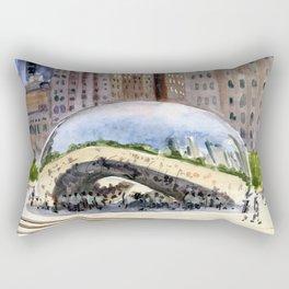 Cloud Gate - Chicago Rectangular Pillow