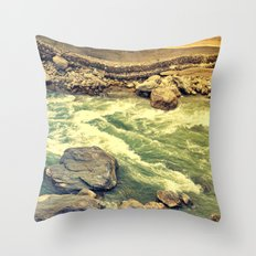 Another day gone! Throw Pillow