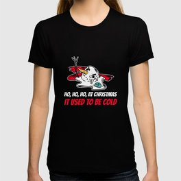 Climate ChangeChristmas X-Mas Winter Season Gift  T-shirt