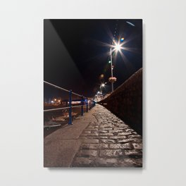 Guernsey Night Path Metal Print