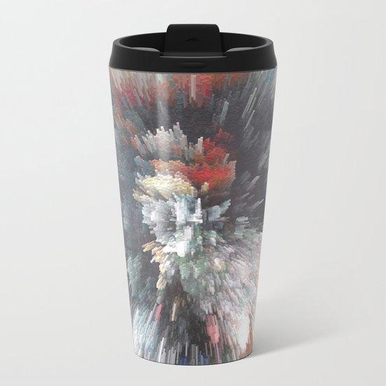 Abstract night Metal Travel Mug