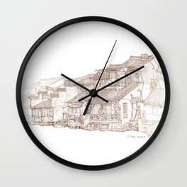Xitag.China.Rivr Villae Wall Clock