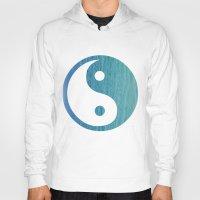 yin yang Hoodies featuring Yin Yang by shans