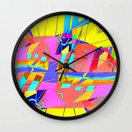 RE-bound-ED Wall Clock