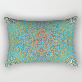 Mehndi Ethnic Style G368 Rectangular Pillow
