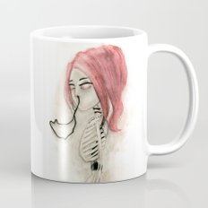 The inability to perceive with eyes notebook III Mug