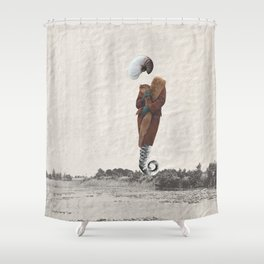 the ? Shower Curtain