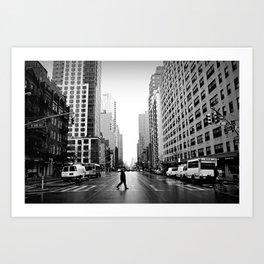 88th Street Art Print