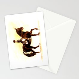 Horses and People No.2 Stationery Cards