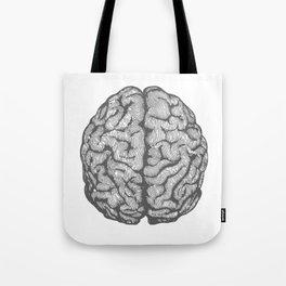 Brain vintage illustration Tote Bag