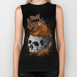 Moonshine Skull Biker Tank