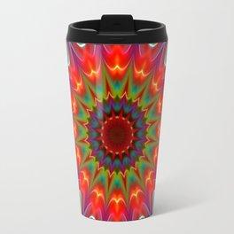 Colors kaleidoscope pattern Travel Mug