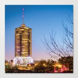 Tulsa University Tower at Dawn - Oklahoma Canvas Print