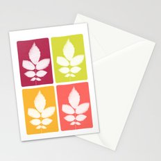 color block 4: bold Stationery Cards