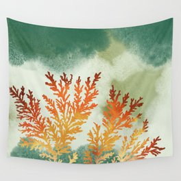 Sandstone Fossils Wall Tapestry