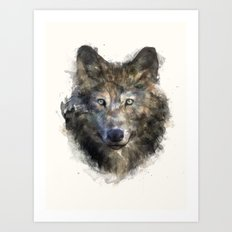 Wolf // Secure Art Print