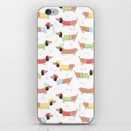 Cute Bassotti iPhone Skin