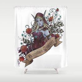 Queen of the Forsaken Shower Curtain