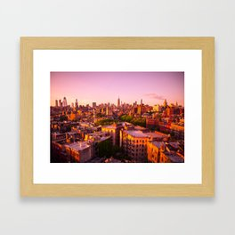 New York, I Love You (West Village Edition) Framed Art Print