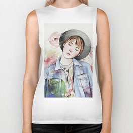 the age of blossoms Biker Tank
