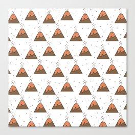 Volcano Pattern #1 Canvas Print