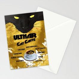 Ulthar Cat Caffe Stationery Cards