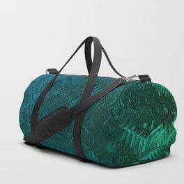 Ferns pattern Duffle Bag