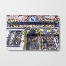 Greyfriars Bobby Pub edinburgh Metal Print