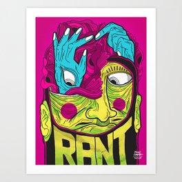 Reimagine Palahniuk - Rant Art Print