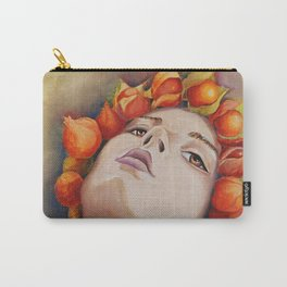 Herbst Mädchen 2 Carry-All Pouch