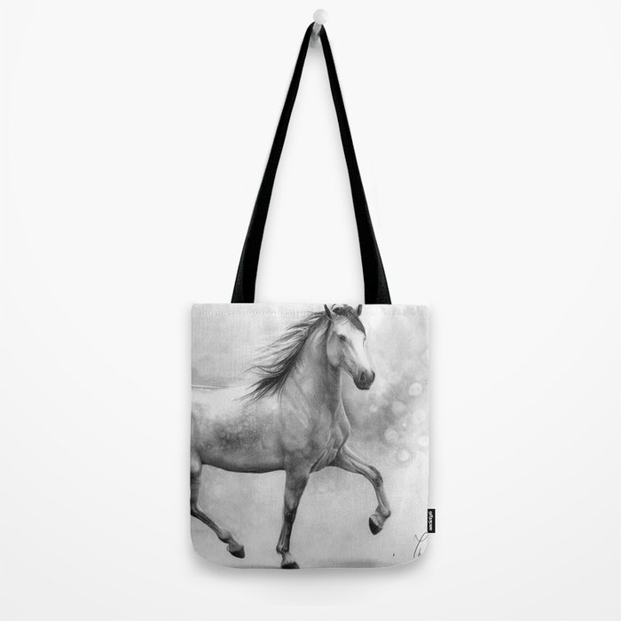 Horse II - pencil drawing Tote Bag