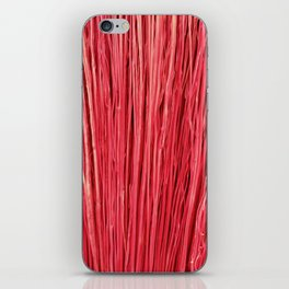 Red Brushwood Photography iPhone Skin