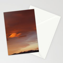 Tangerine Sky Stationery Cards