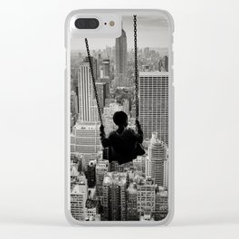 Playground Swings by GEN Z Clear iPhone Case