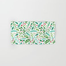 Christmas Florals Hand & Bath Towel
