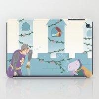 sleep iPad Cases featuring Sleep by Loezelot