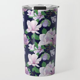 Magnolia Floral Frenzy Travel Mug