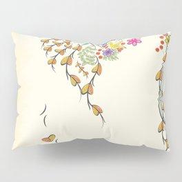 Vibrant Floral to Floral Pillow Sham