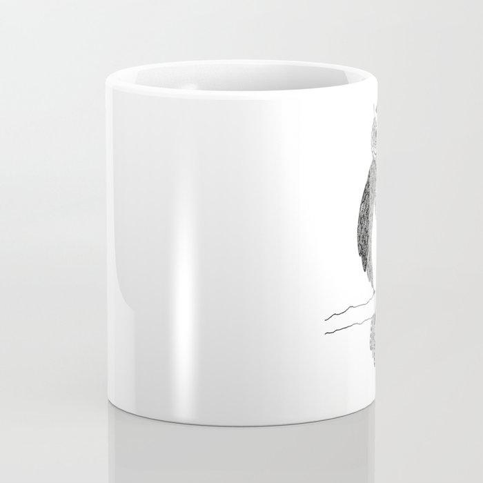 Intricate night owl doodle Coffee Mug