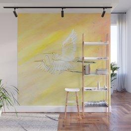 Great Egrets Wall Mural