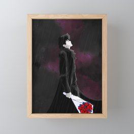 Spike Spiegel Cowboy Bebop Framed Mini Art Print
