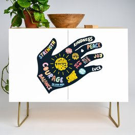 Positivity – Helping Hand Credenza