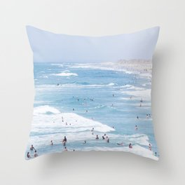 Beach Life 2 Throw Pillow