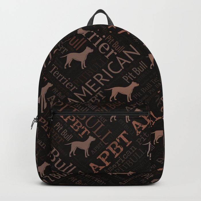American Pit Bull Terrier Backpack