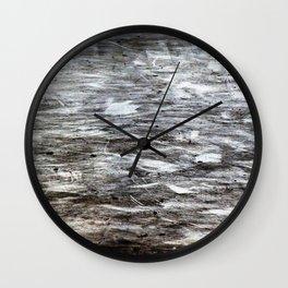 Silver Dust Wall Clock