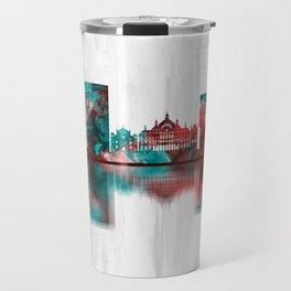 Antwerp Belgium Skyline Travel Mug